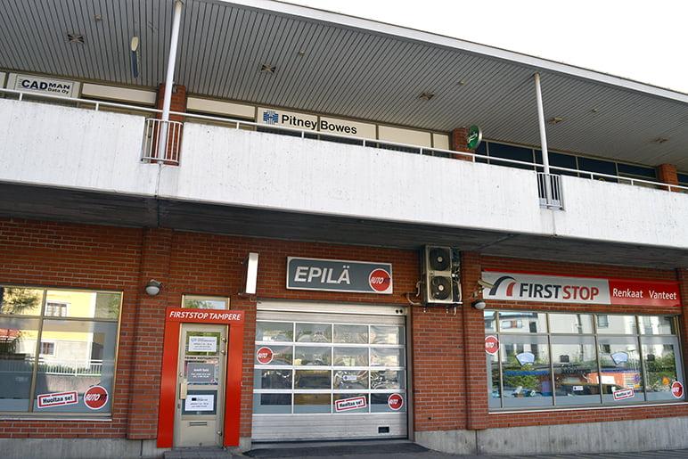 Autopalvelukeskus Tampere, työnvastaanotto